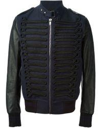 Diesel Black Gold   Black 'Jammay' Bomber Jacket for Men   Lyst
