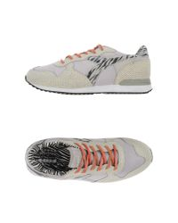 Diadora - Gray Low-tops & Trainers for Men - Lyst