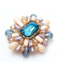 Nakamol | Multicolor Odetta Brooche-light Purple | Lyst