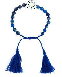 Ileana Makri - Blue 'komploi' Lapis Jade Bracelet - Lyst