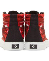Marcelo Burlon - Red Alas High_Top Sneakers for Men - Lyst