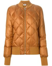 Sonia by Sonia Rykiel | Natural Quilted Cinnamon Jacket | Lyst
