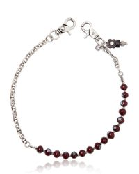 Lardini | Brown Murano Glass Beads Pocket Chain for Men | Lyst