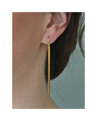 Spectrum | Metallic Brass Dangles | Lyst