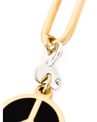 Marc By Marc Jacobs | Black Peace Sign Earrings | Lyst