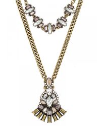BaubleBar - Metallic Nirvana Necklace - Lyst