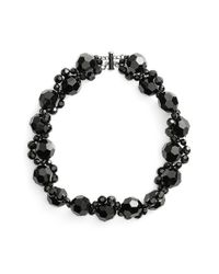 Simone Rocha - Black Beaded Necklace - Lyst
