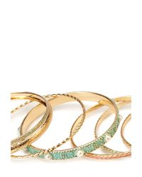 Forever 21 | Green Bright Bangle Set | Lyst