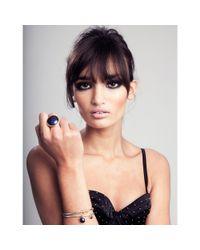 Maya Magal - Blue Goldstone Ring - Lyst