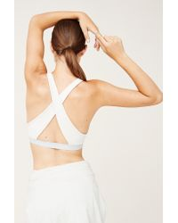 Outdoor Voices | Natural Cross-back Bra | Lyst