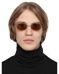 Mykita - Metallic Margiela Rounded Sunglasses for Men - Lyst