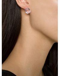 Marie-hélène De Taillac - Purple Amethyst And Sapphire Stud Earrings - Lyst