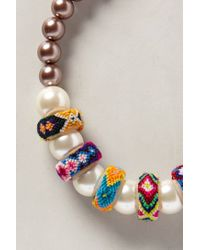 Anthropologie - Multicolor Starlight Mesa Necklace - Lyst