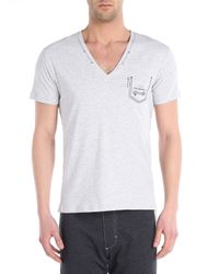 DIESEL | Gray Umtee-jesse for Men | Lyst