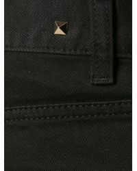 Valentino - Black Classic Jeans for Men - Lyst