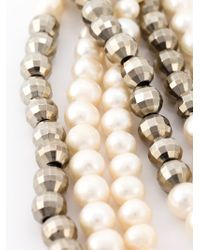 Rosantica | White 'griglio' Pearl Necklace | Lyst
