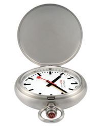 Mondaine - Metallic 'savonnette Ii' Pocket Watch - Lyst