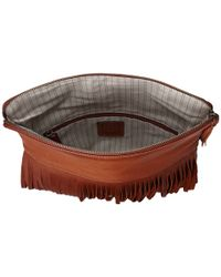 Frye | Brown Heidi Fringe Crossbody | Lyst
