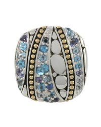 John Hardy - Blue Kali Lavafire Sea Colorway Ring - Lyst