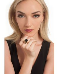 Trina Turk - Black Stackable Ring - Lyst