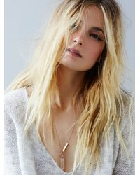 Free People | Pink Samantha Wills Womens Mineral Pendant | Lyst