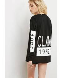 Forever 21 | Black This Is A Love Song 1992 Clan Tee | Lyst