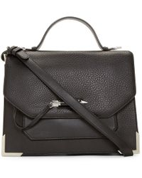 Mackage | Black Leather Jori Satchel Bag | Lyst