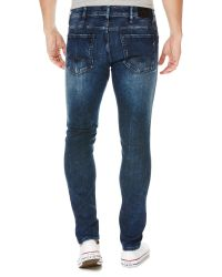 Replay - Blue Jondrill Hyperflex Skinny Fit Jeans for Men - Lyst