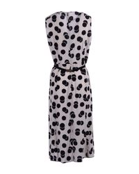 Victoria, Victoria Beckham - Pink 3/4 Length Dress - Lyst