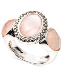 Judith Jack | Sterling Silver Pink Abalone Ring | Lyst