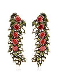 Iosselliani - Metallic All That Jewelry! Demi Hollow Earrings - Lyst