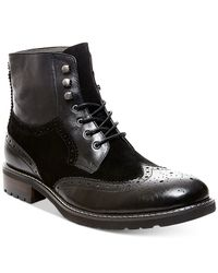 Steve Madden | Black Occupie Boots for Men | Lyst