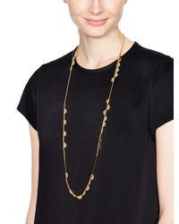 kate spade new york - Metallic Sweetheart Scallops Wrap Necklace - Lyst