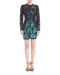 Needle & Thread | Black Circle Mesh Dress | Lyst