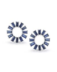 Dana Rebecca - Blue Anna Beth Sapphire Starburst Earrings - Lyst