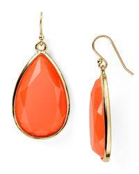 kate spade new york - Orange Day Tripper Earrings - Lyst