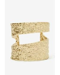 Nasty Gal | Metallic Sharisse Cutout Cuff | Lyst
