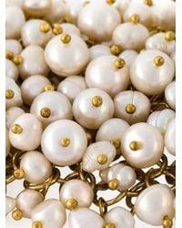 Rosantica | Metallic 'osiris' Pearl Cuff | Lyst