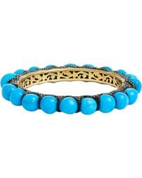 Carole Shashona - Blue Imperial Calabash Bangle - Lyst