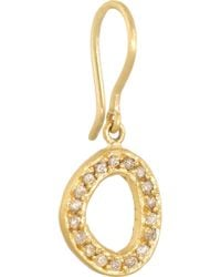 Yossi Harari - Metallic Melissa 24-Karat Gold Diamond Earrings - Lyst
