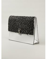 Proenza Schouler | Black Medium 'Courier' Clutch | Lyst