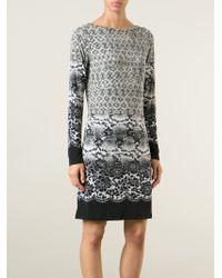 MICHAEL Michael Kors - Multicolor Snakeskin Print Dress - Lyst