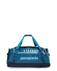 Patagonia Blue 'black Hole' Duffel Bag for men