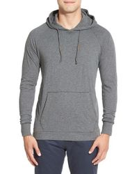 Jeremiah | Gray 'blaine' Double Layer Hoodie for Men | Lyst