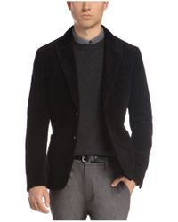 BOSS Orange - Black Regular-fit Jacket In Corduroy: 'beddie1-w' for Men - Lyst