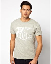 French Connection | Gray T-shirt Sbs Crew for Men | Lyst