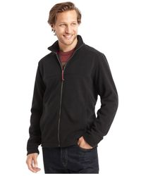 G.H. Bass & Co. | Blue Full-zip Mock-neck Arctic Fleece Jacket for Men | Lyst