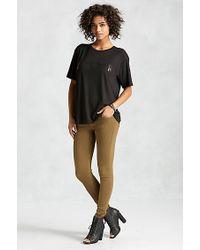 True Religion | Green Joan Smalls Super Skinny Zip Pocket Womens Jean | Lyst