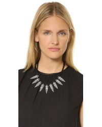Lulu Frost | Black Jabrosa Spike Necklace | Lyst