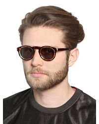 Retrosuperfuture - Brown Paloma Sagoma Tortoise Sunglasses for Men - Lyst